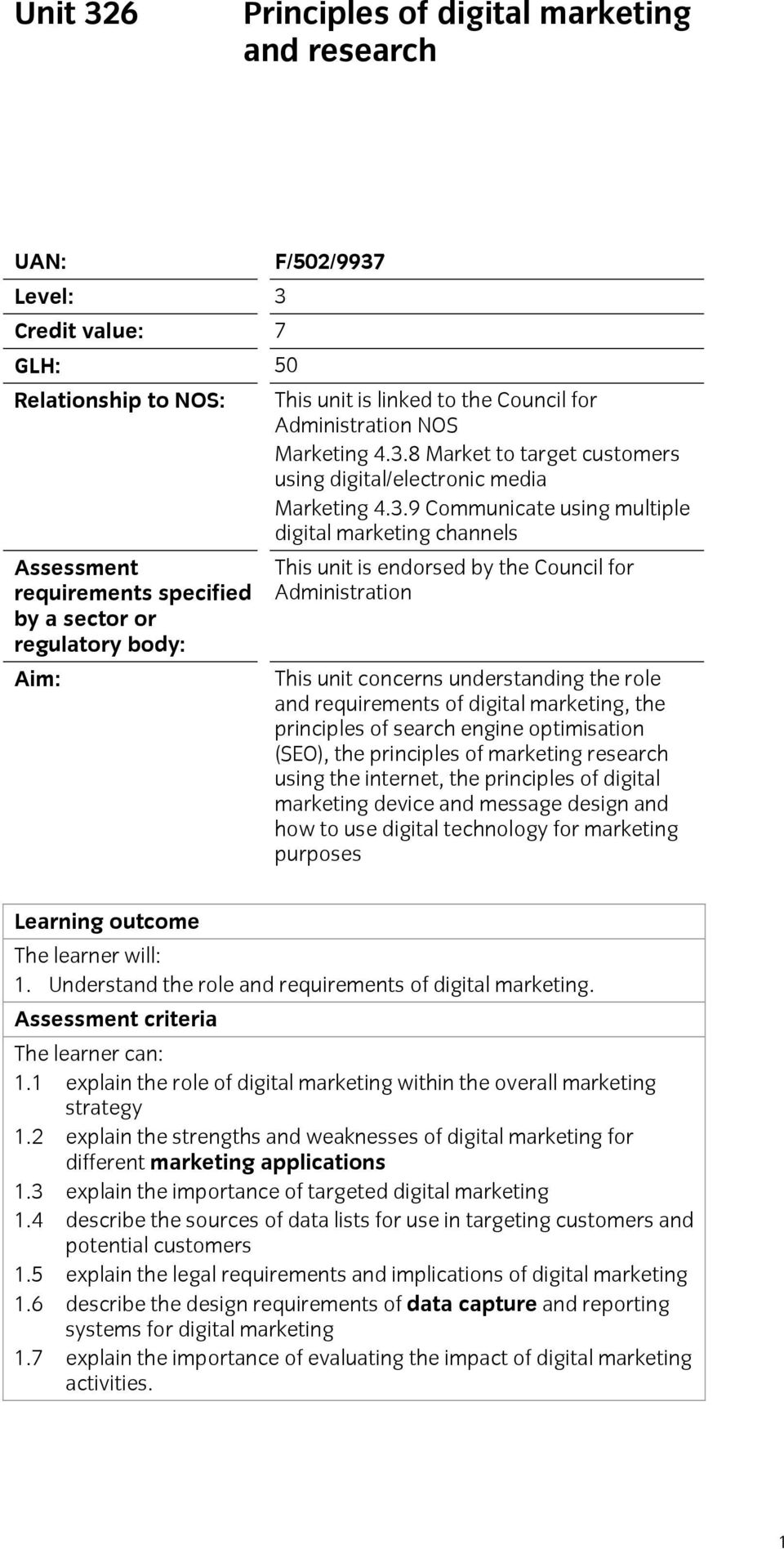 8 Market to target customers using digital/electronic media Marketing 4.3.