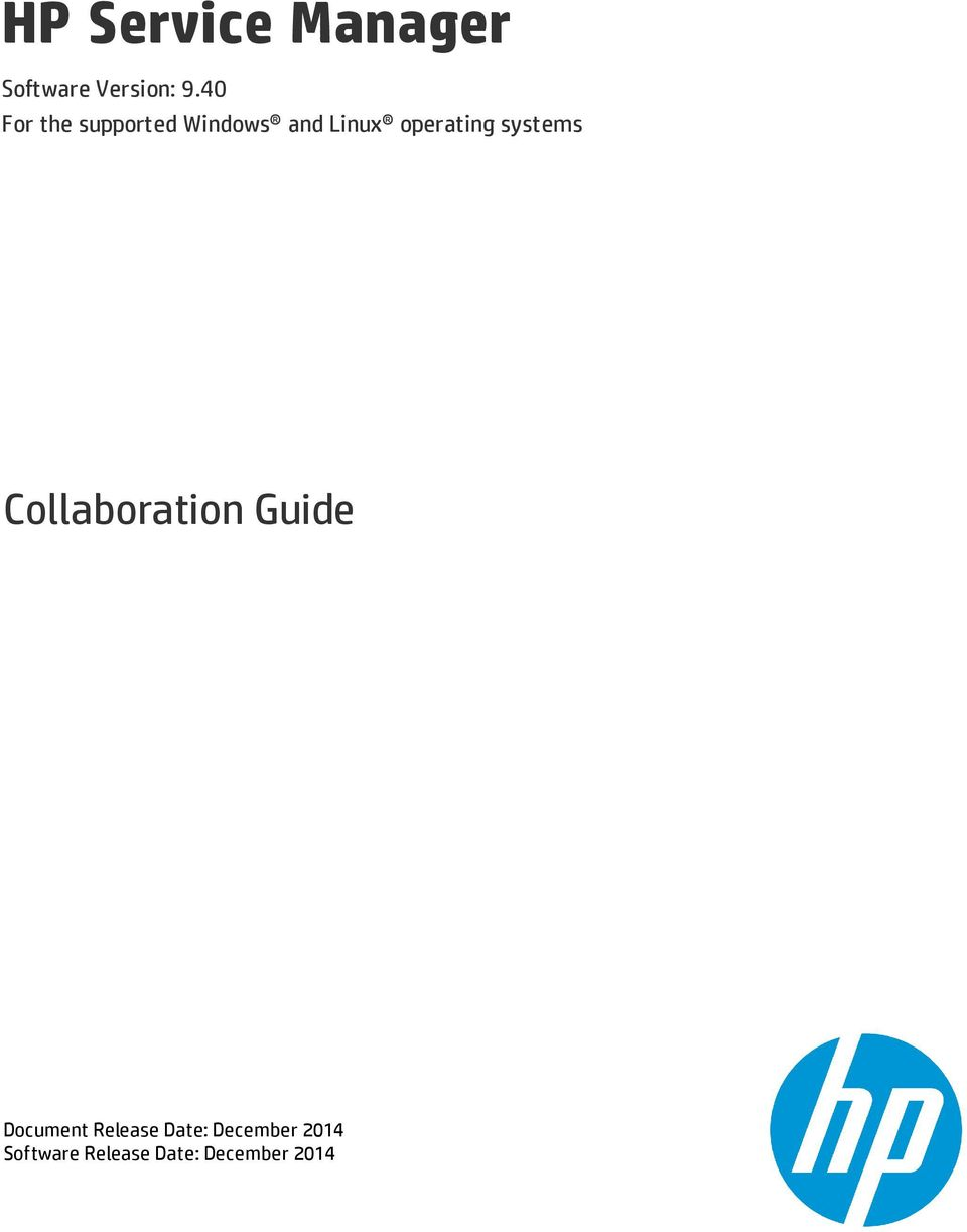 operating systems Collaboration Guide Document