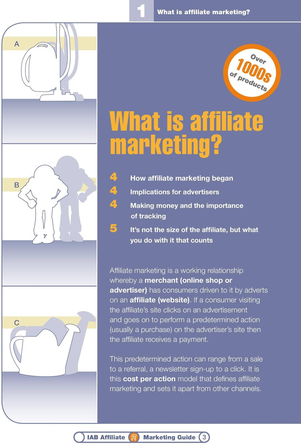 marketing is a working relationship whereby a merchant (online shop or advertiser) has consumers driven to it by adverts on an affiliate (website).