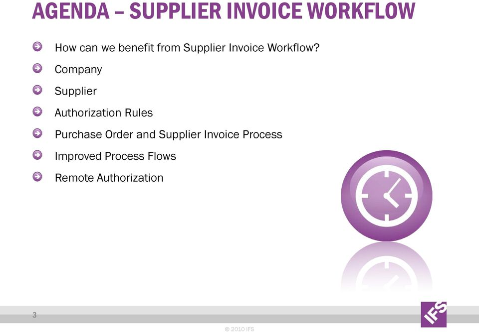 Company Supplier Authorization Rules Purchase Order