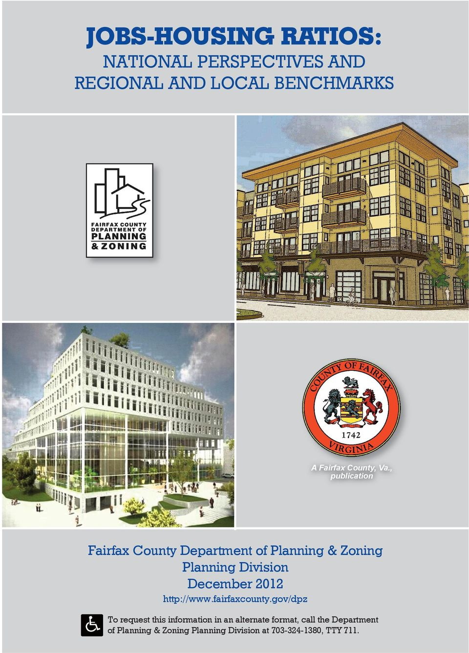 , publication Fairfax County Department of Planning & Zoning Planning Division December