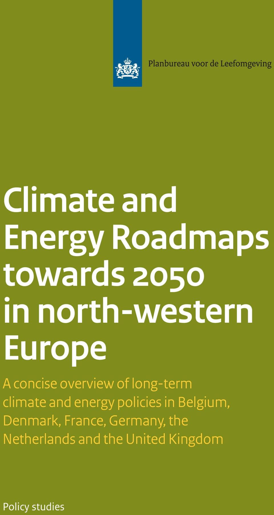 climate and energy policies in Belgium, Denmark,