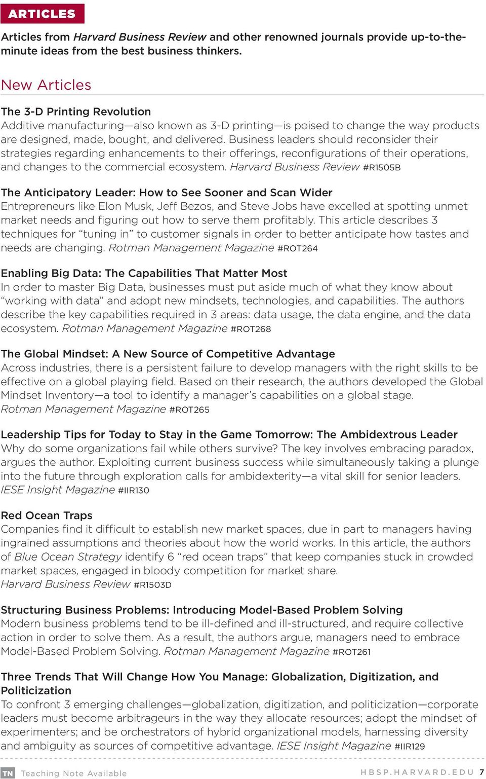 harvard business review marketing case studies Enjoy these five free downloadable hbr articles on the topics of risk and globalization titles include innovation risk: how to make smarter decisions.