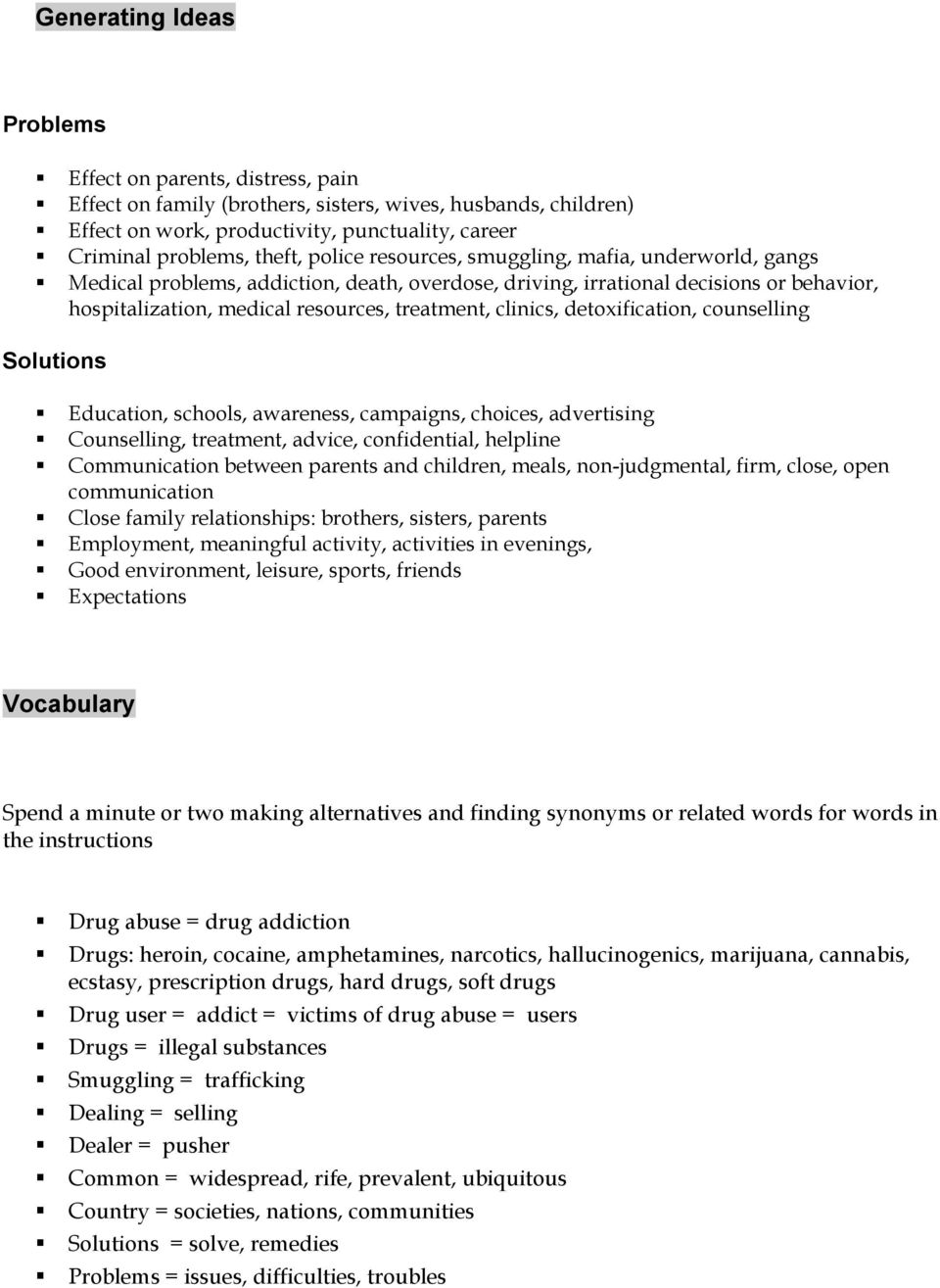 essay on drug addiction problem solution drugs pdf definition  problem solution drugs pdf detoxification counselling solutions education schools awareness campaigns choices advertising counselling