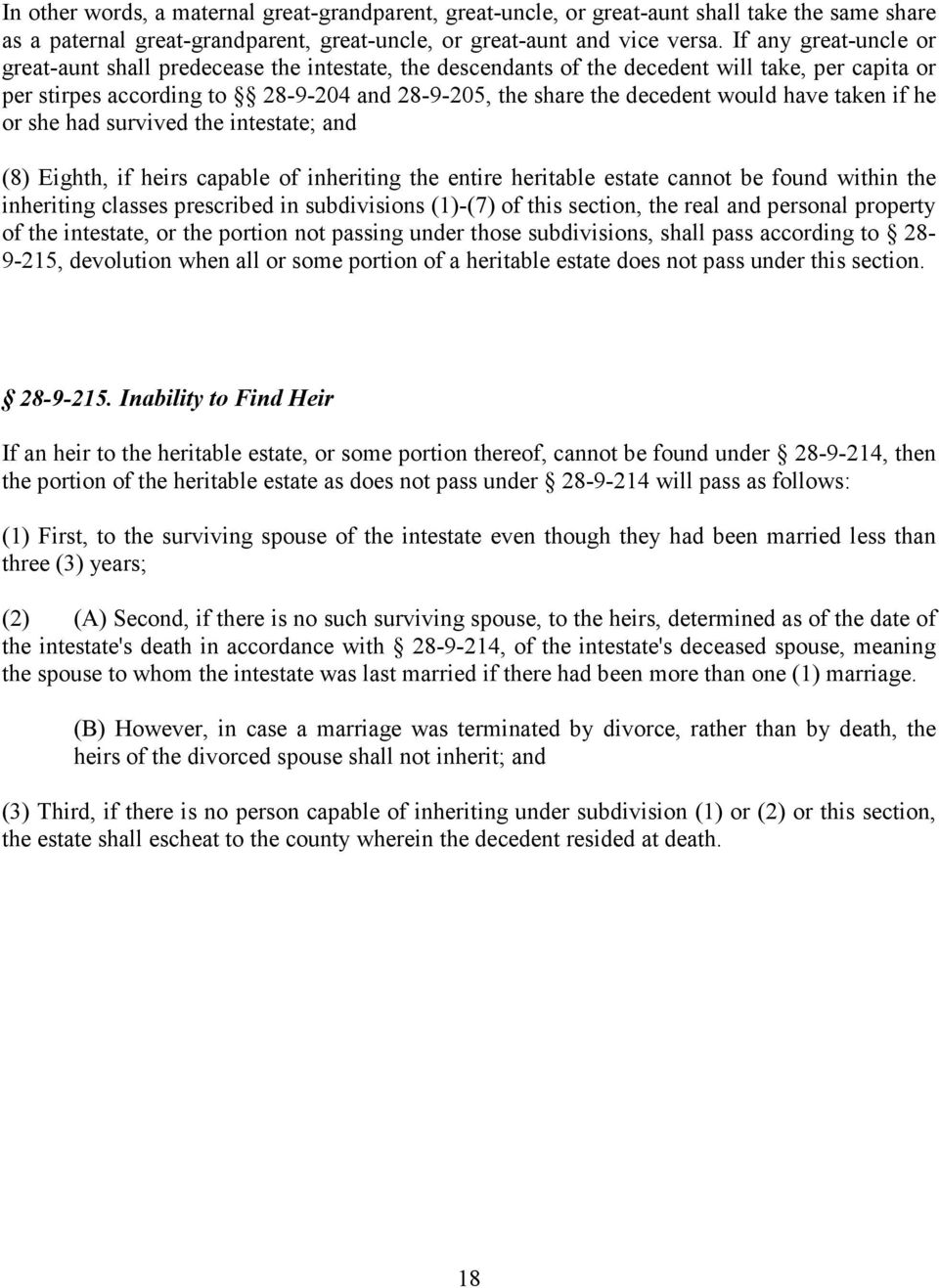 Have Taken If He Or She Had Survived The Intestate; And (8) Eighth See  Exhibit 2 How To File Taxes For A Deceased
