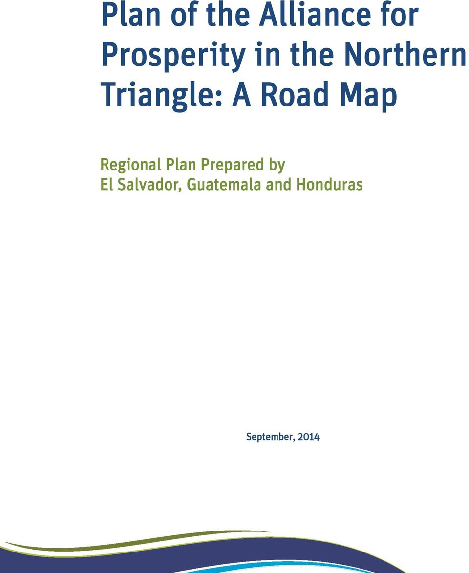 Regional Plan Prepared by El