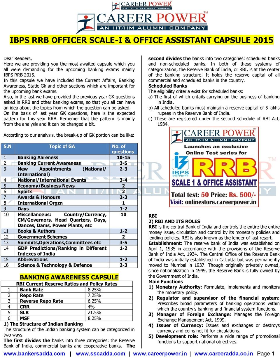 Also, in the last we have provided the previous year GK questions asked in RRB and other banking exams, so that you all can have an idea about the topics from which the question can be asked.