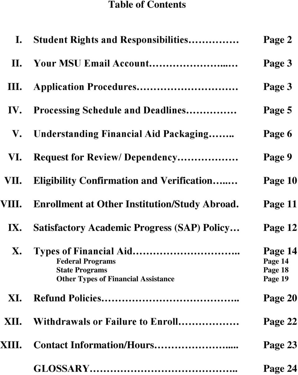Request for Review/ Dependency Eligibility Confirmation and Verification.. Enrollment at Other Institution/Study Abroad.
