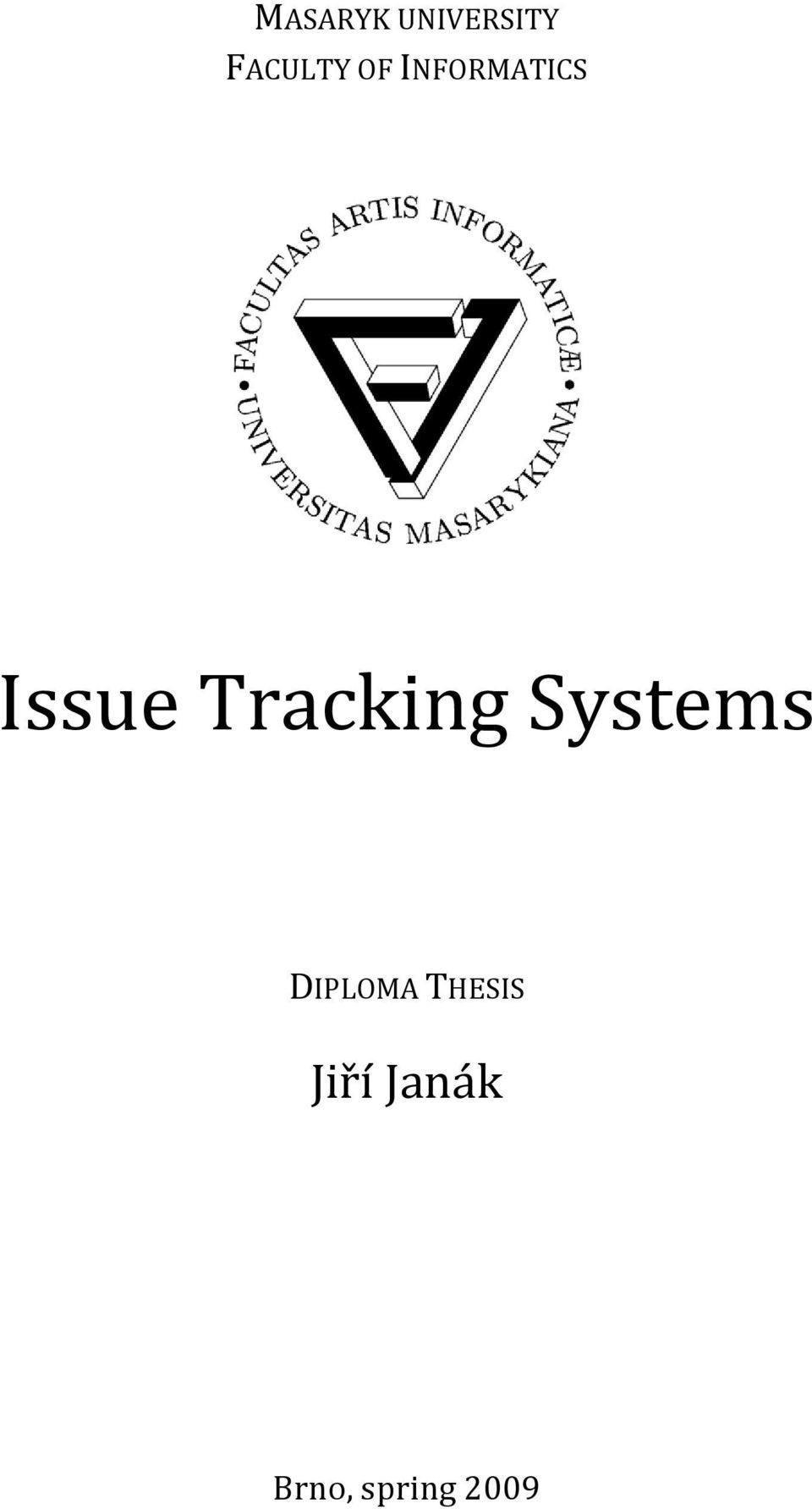 Tracking Systems DIPLOMA