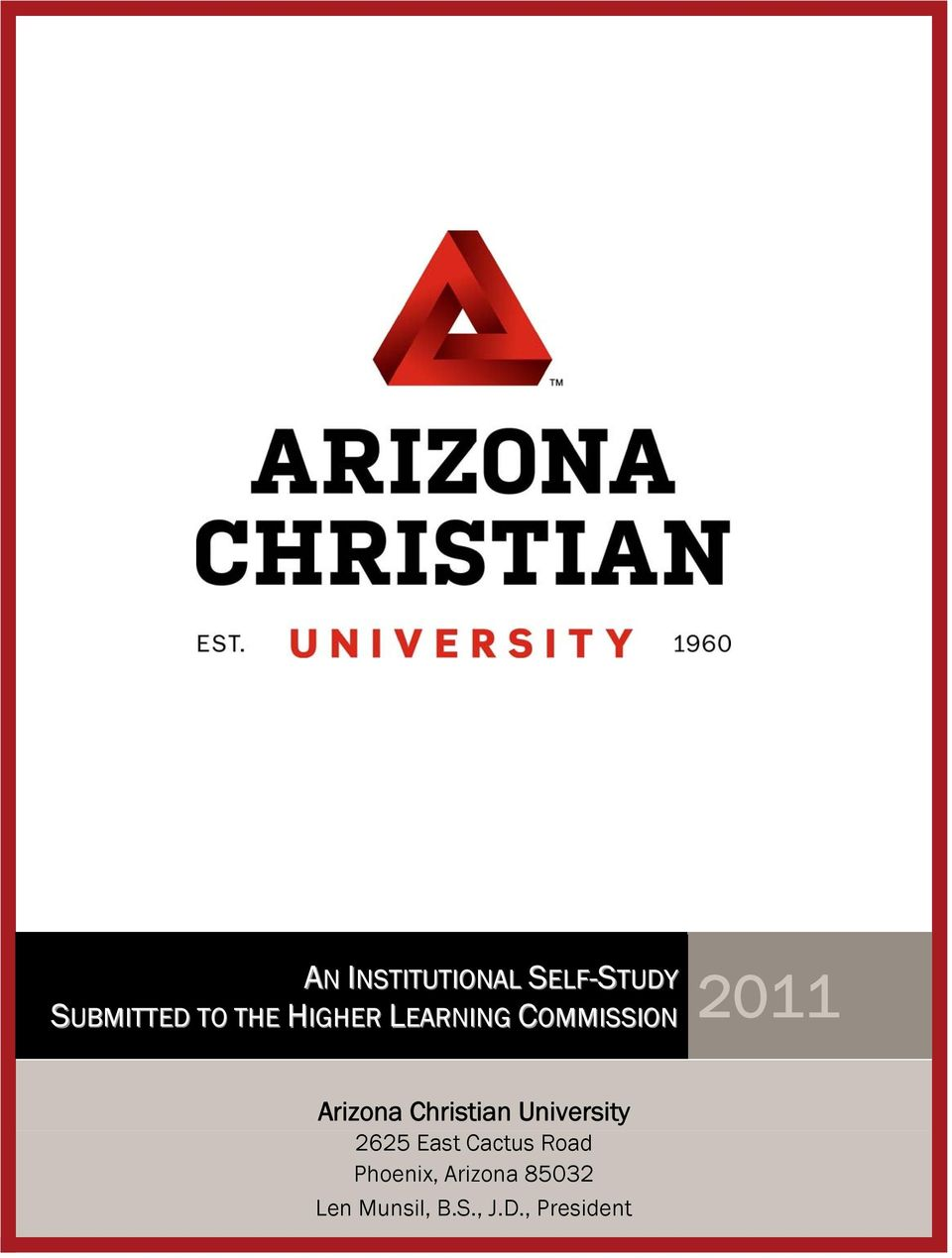 Christian University 2625 East Cactus Road