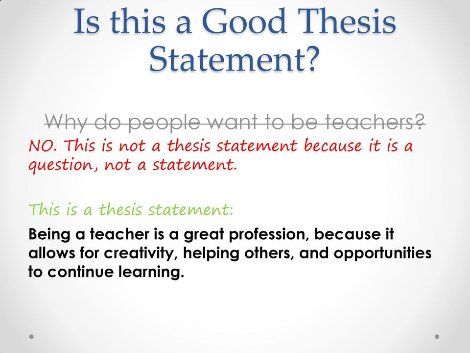 can i use a question as a thesis Help center detailed answers to any questions you might have  is using they,their and them acceptable in research paper or thesis [duplicate.