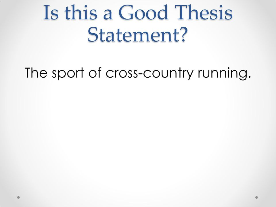 christian worldview thesis statement Christian worldview including a thesis statement to introduce the are there between your worldview and the christian worldview if you are a christian.