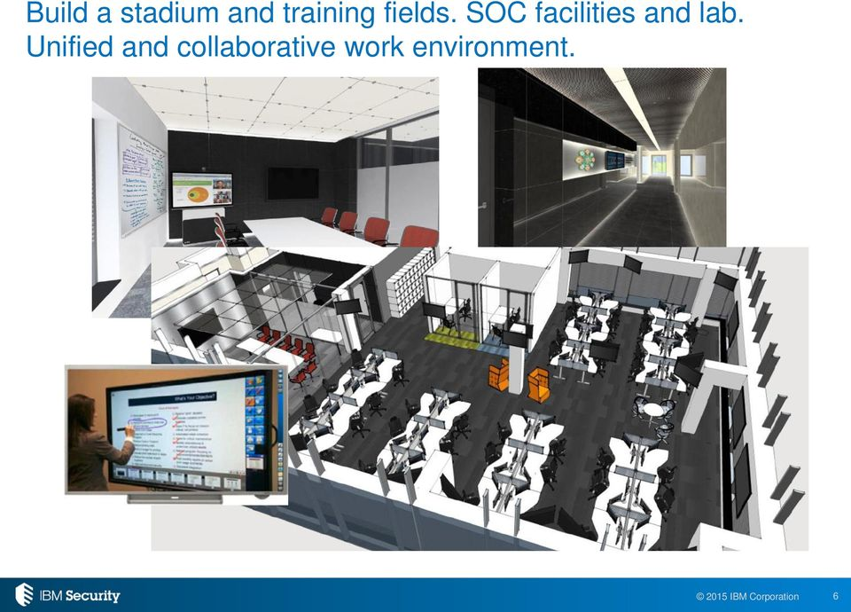 SOC facilities and lab.