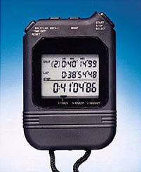 Stopwatch and Timer Calibrations uncertainty of the stopwatch must be considered.
