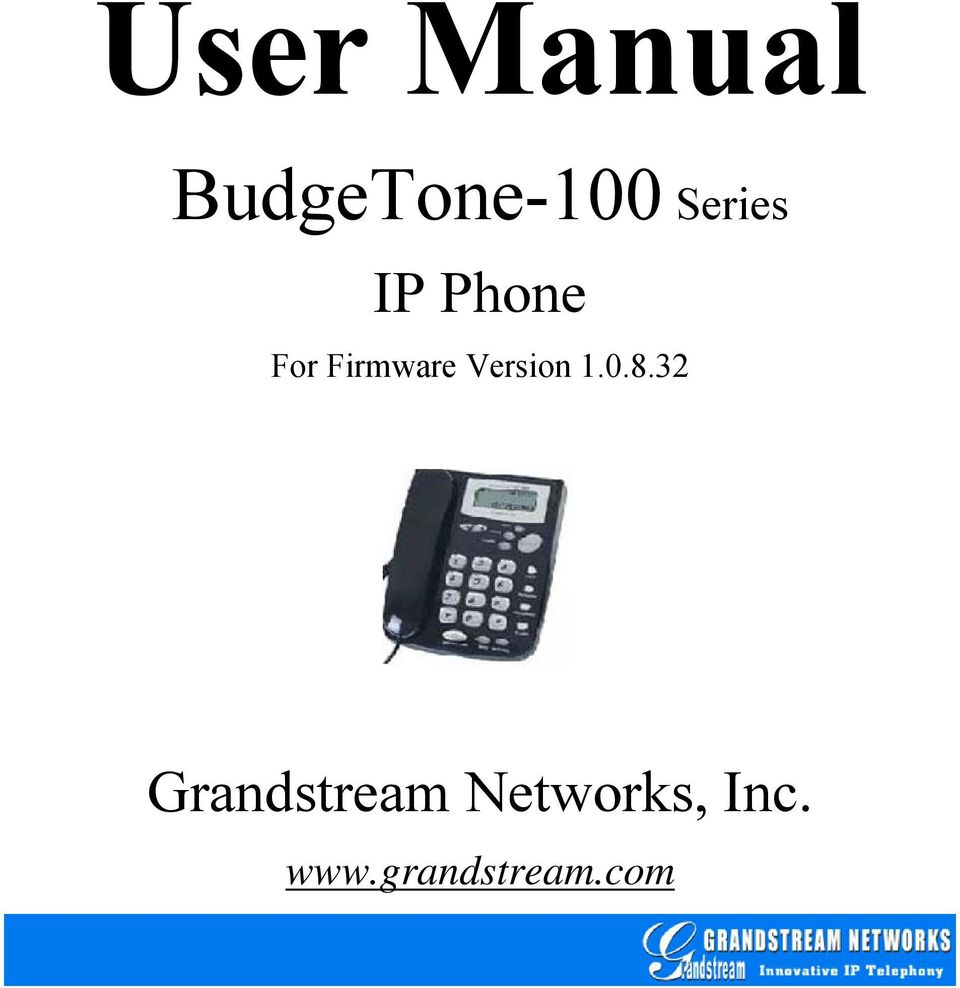 IP Phone For Firmware