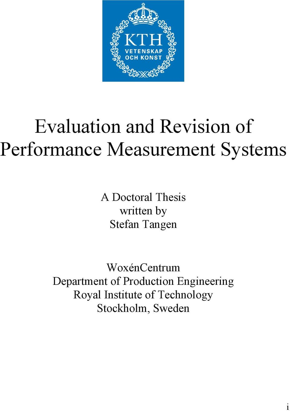 Chemical Engineering Thesis