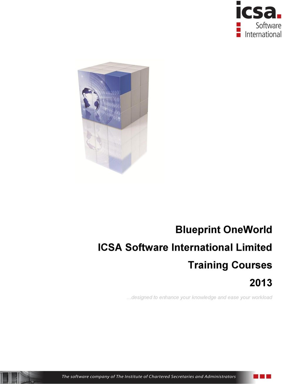 Blueprint oneworld icsa software international limited training curses 2013 designed t enhance malvernweather Gallery