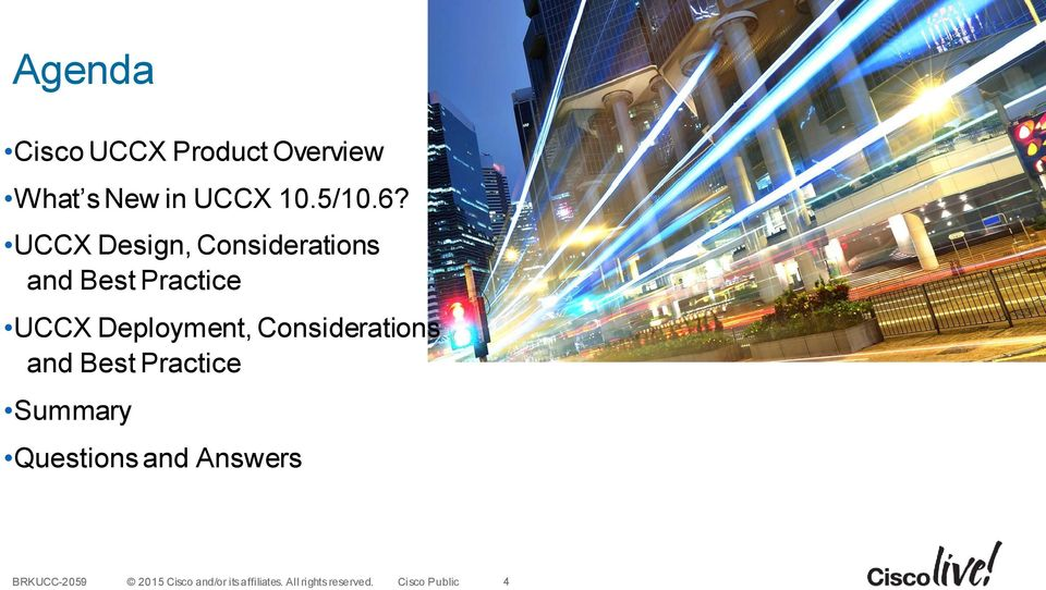 UCCX Design, Considerations and Best Practice
