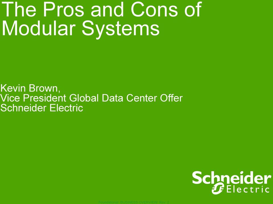 Center Offer Schneider Electric Schneider