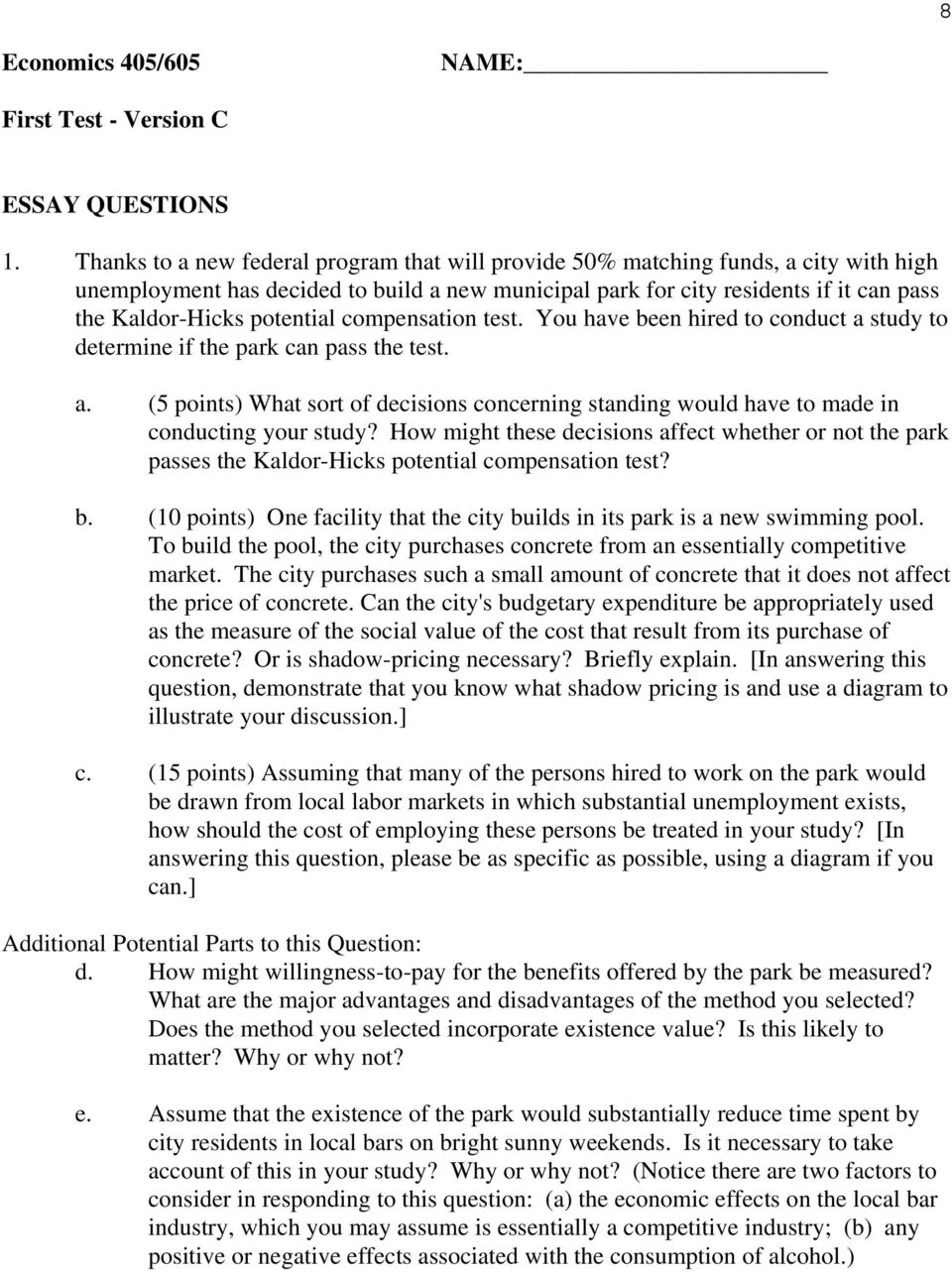 questions and answers on cost benefit analysis pdf
