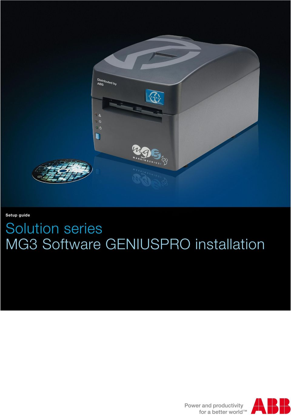 MG3 Software