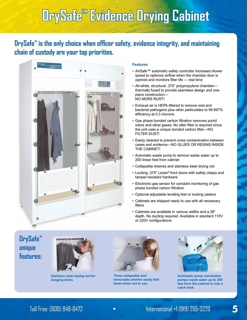 Dry Safe Evidence Drying Cabinet Assembly ~ Pdf
