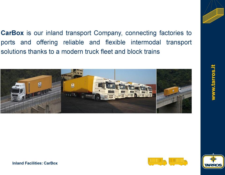 flexible intermodal transport solutions thanks to a
