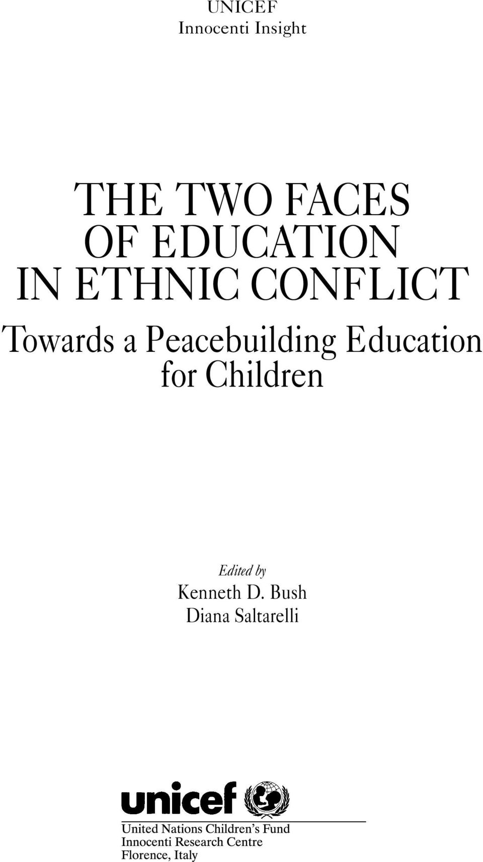 a Peacebuilding Education for Children