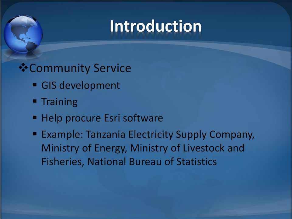 Electricity Supply Company, Ministry of Energy,