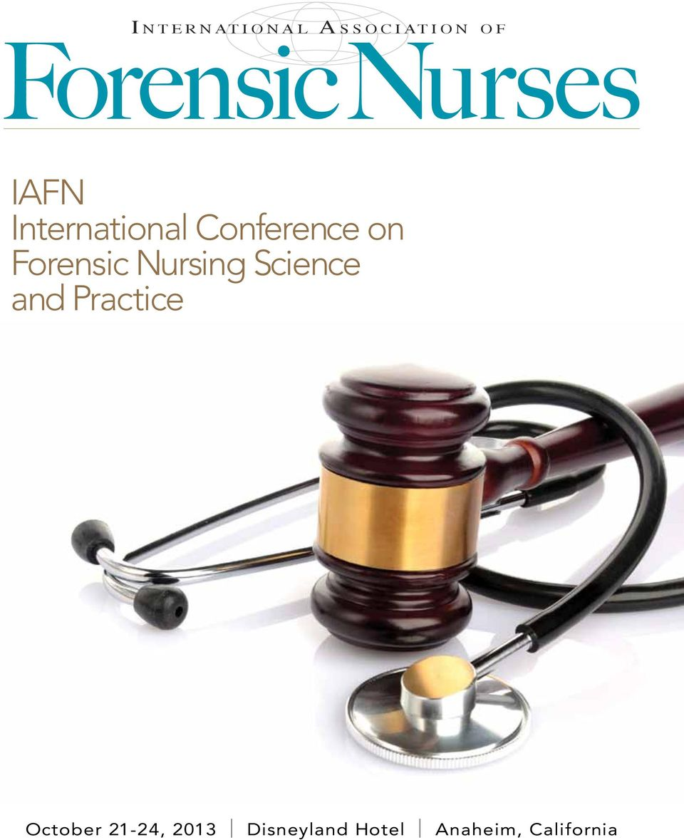 on Forensic Nursing Science and Practice October