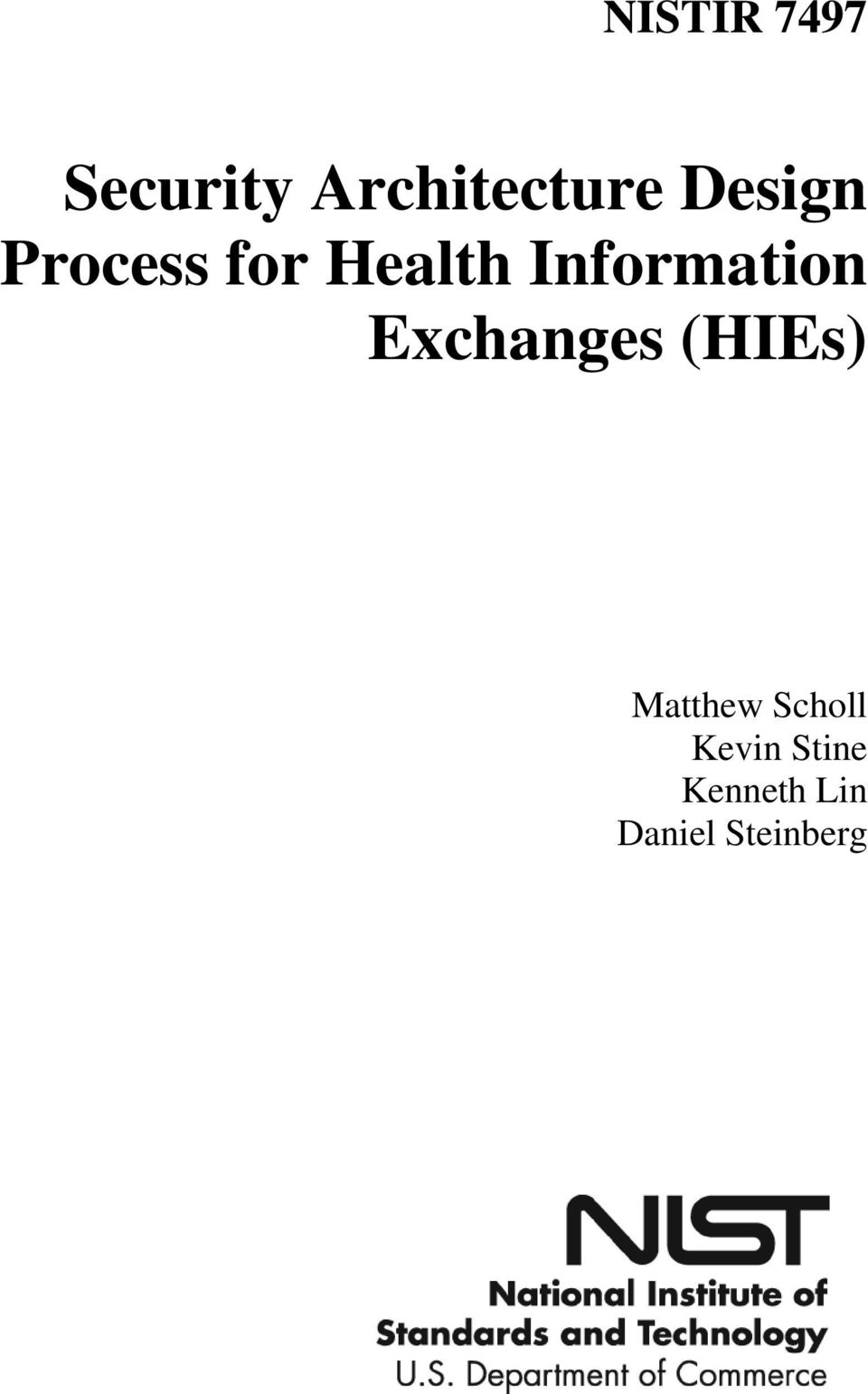 Information Exchanges (HIEs)