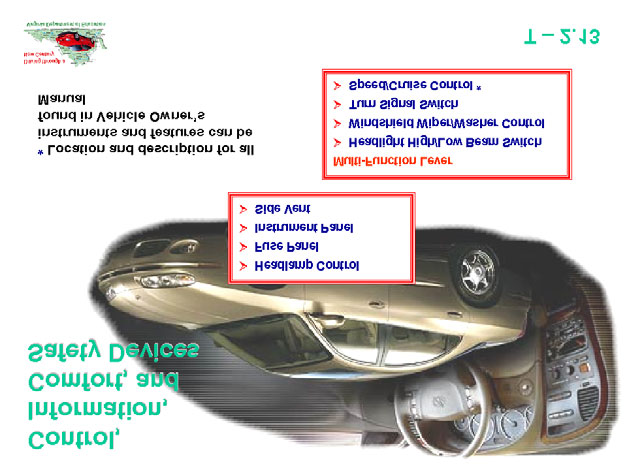 Topic: 2 Lesson: 2 Identifying Vehicle Control Devices Knowledge and Skills The student is expected to identify the