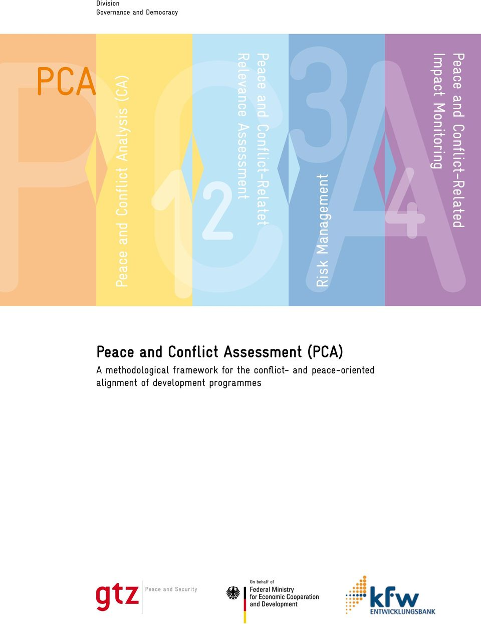 Conflict-Related Impact Monitoring Peace and Conflict Assessment (PCA) A