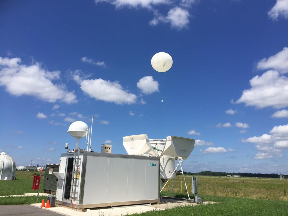 OBSERVATIONS Status of Autosondes The NWS is testing the feasibility of utilizing an automatic radiosonde launcher, the Autosonde.