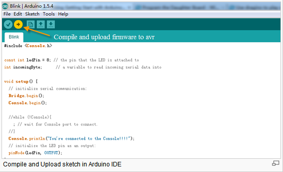 3.3 Upload Sketch 1) In the Arduino IDE, choose the correct board type for the AVR module. 2) In Arduino IDE port, choose the correct port.