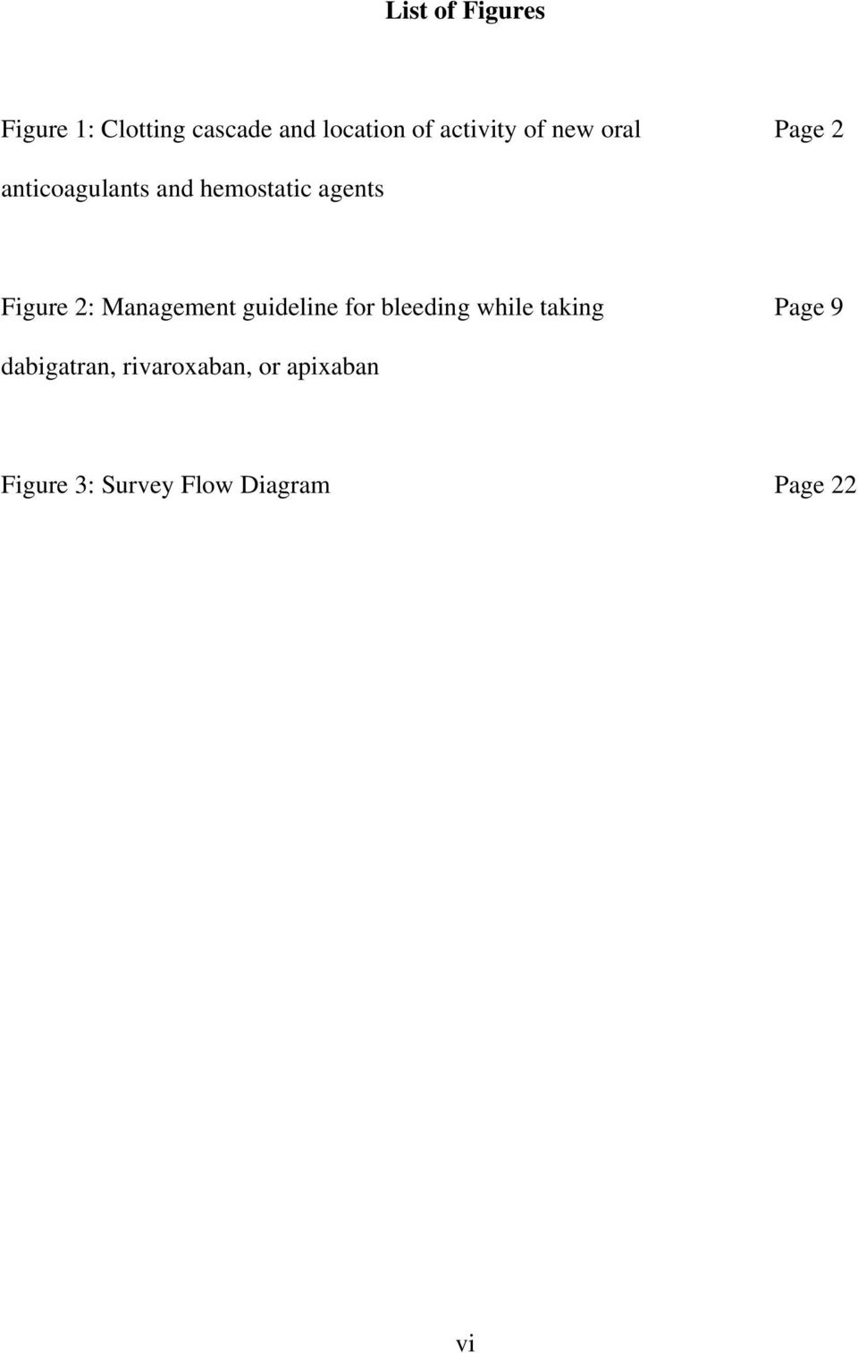 Figure 2: Management guideline for bleeding while taking Page 9