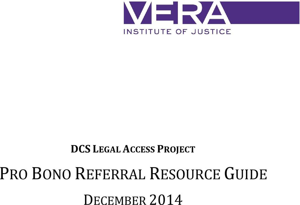 REFERRAL RESOURCE