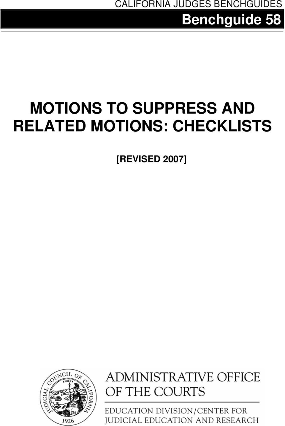 MOTIONS TO SUPPRESS AND