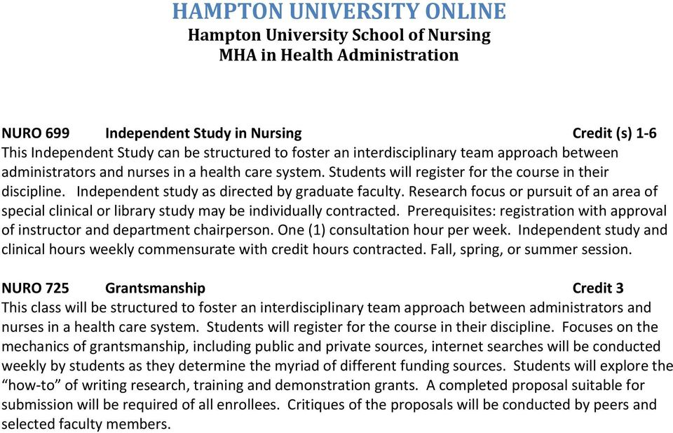 Research focus or pursuit of an area of special clinical or library study may be individually contracted. Prerequisites: registration with approval of instructor and department chairperson.