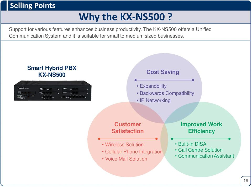 Smart Hybrid PBX Cost Saving Expandbility Backwards Compatibility IP Networking Customer Satisfaction