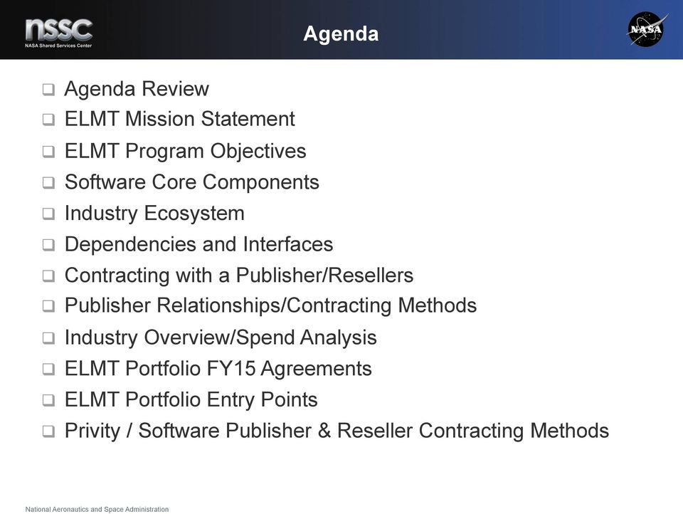 Publisher Relationships/Contracting Methods Industry Overview/Spend Analysis ELMT Portfolio
