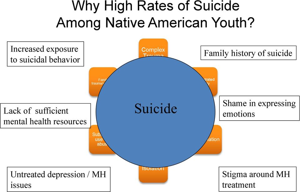 suicide Lack of sufficient mental health resources Shame in