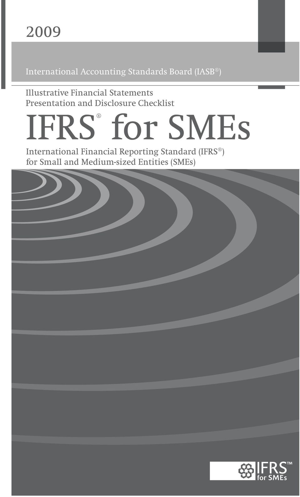 Disclosure Checklist IFRS for SMEs International Financial