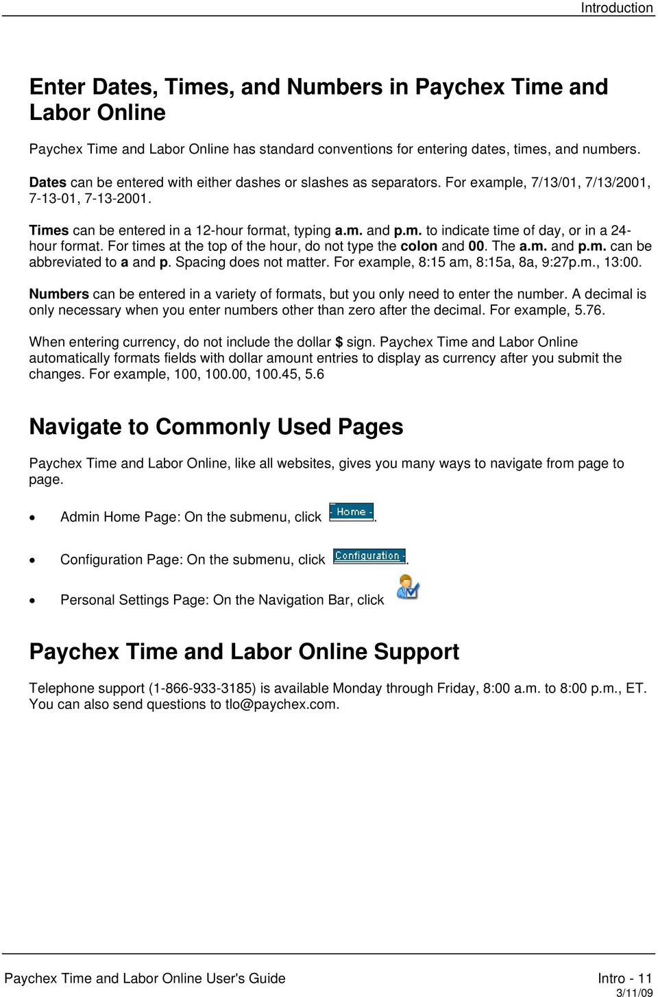 paychex time and labor