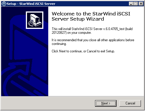 Installation Procedure Set up StarWind Management Console with Hyper-V/VMware Backup Plug-in: 1. Download StarWind Backup Plug-in: http://www.starwindsoftware.com/customer/ download/starwind.exe 2.
