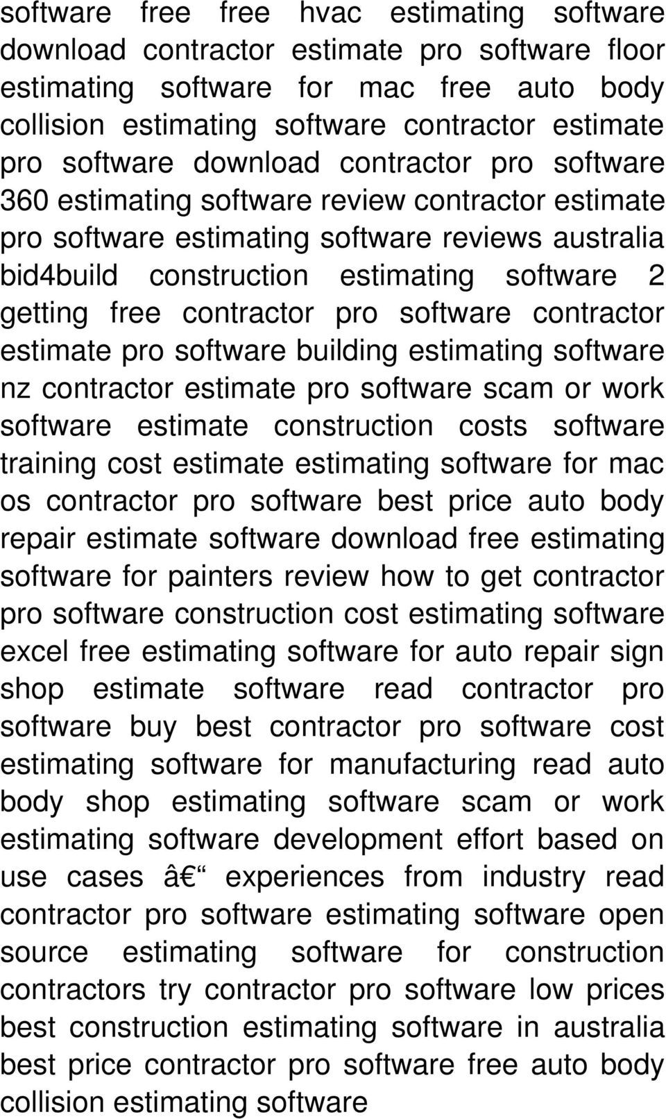 contractor pro software contractor estimate pro software building estimating software nz contractor estimate pro software scam or work software estimate construction costs software training cost