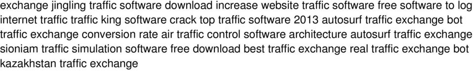 traffic exchange conversion rate air traffic control software architecture autosurf traffic exchange