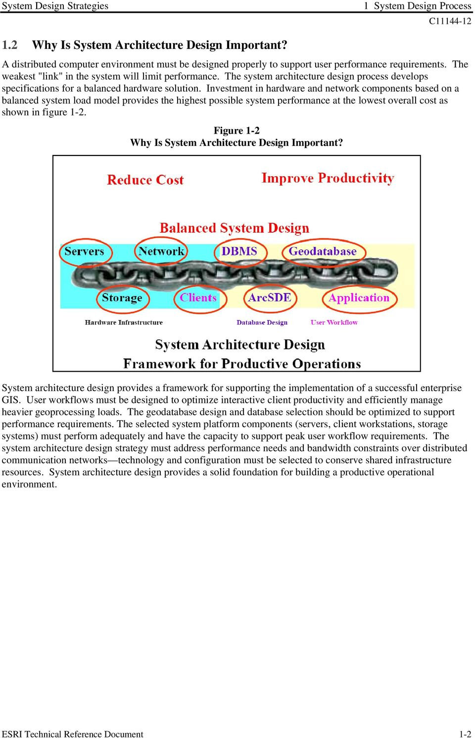 Investment in hardware and network components based on a balanced system load model provides the highest possible system performance at the lowest overall cost as shown in figure 1-2.