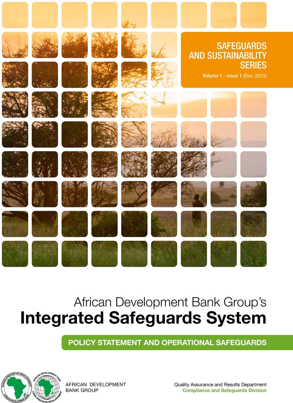 Policy statement and operational safeguards African Development Bank
