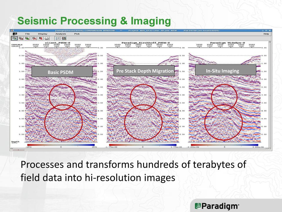 Imaging ES 360 Processes and transforms